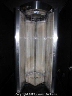 Soltron V-50 Space Cab Turbo Plus Upright Tanning Bed