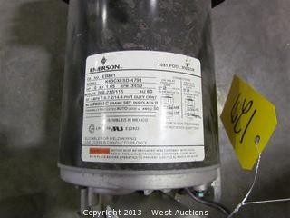 West auctions auction equipment and tools from natural for Us motors 1081 pool motor